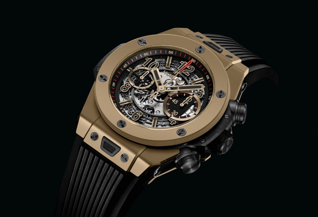 Hublot Big Bang Unico Full Magic Gold-