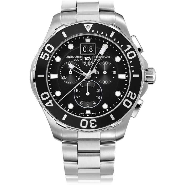 Tag Heuer Aquaracer 300M Grande Date 43mm watch