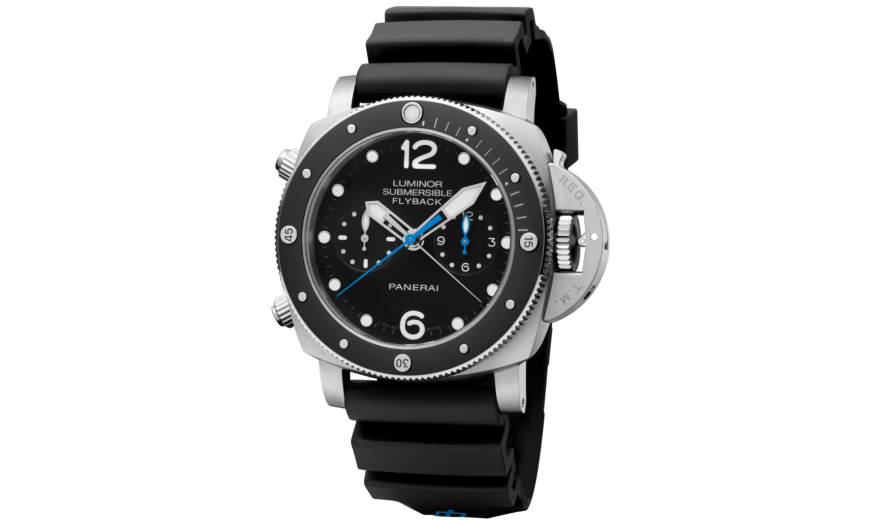 UK Panerai Luminor Submersible 1950 Black Bezel Titanium Case  Watches