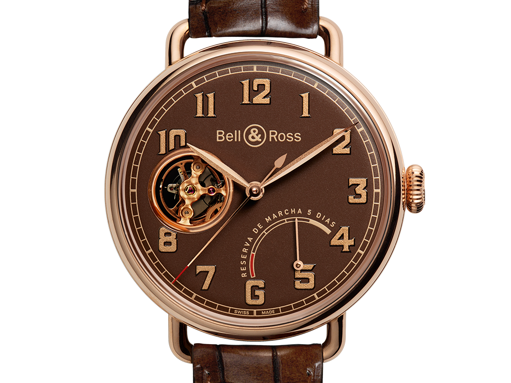 UK Fake Bell & Ross Vintage WW1 Brown Dial Watches