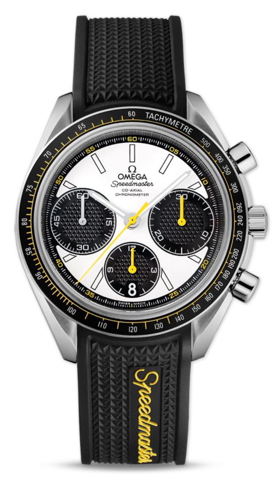 UK Copy Omega Speedmaster Racing  White Dial Watches