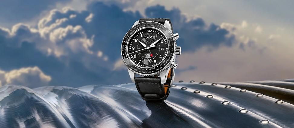 IWC-Pilots-Watches-Timezoner-Chronograph-replica