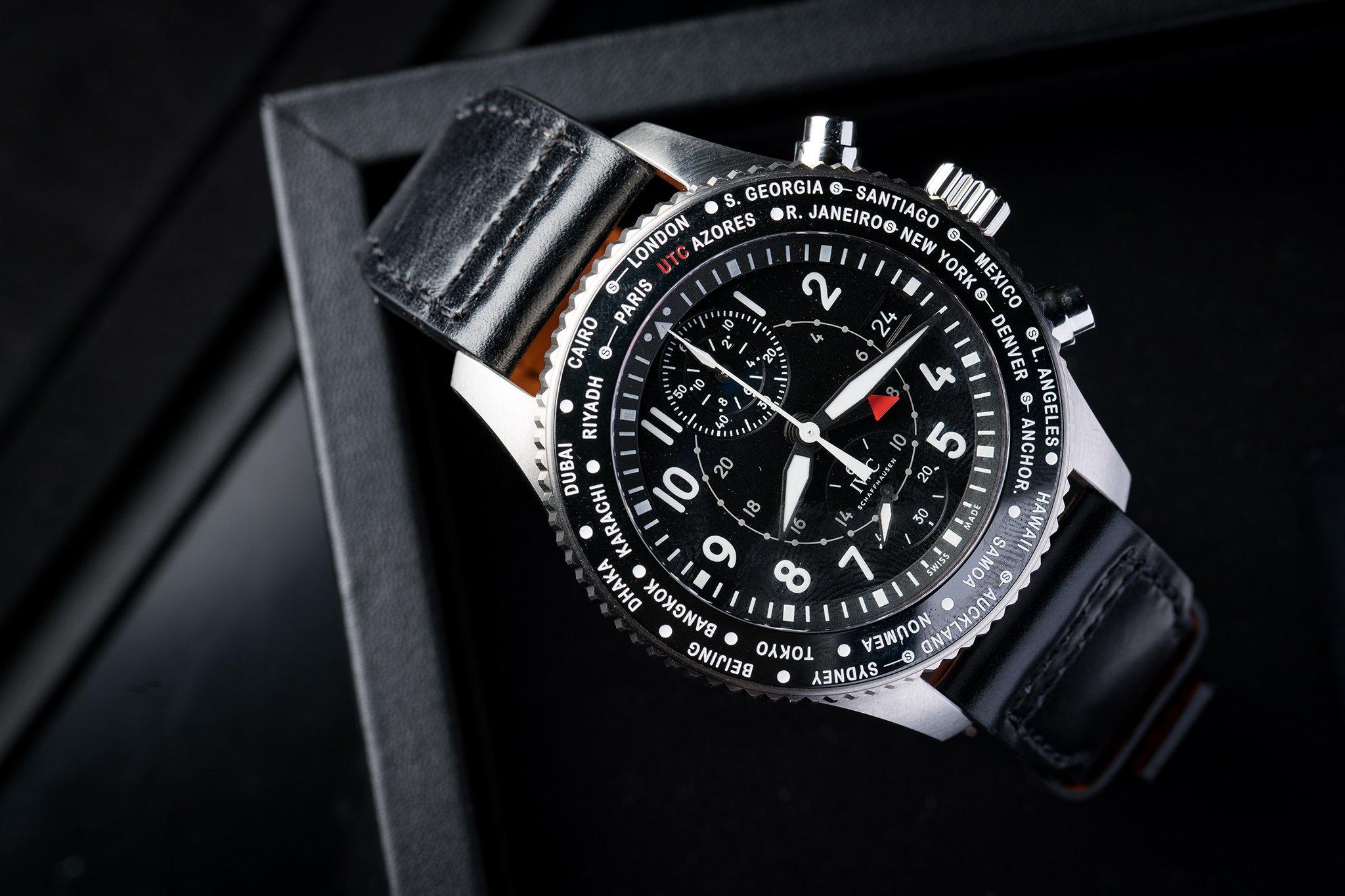 Replica-IWC-Pilots-Watch-Timezoner-Chronograph