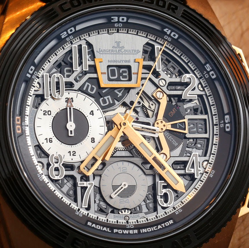 lligator leather strap Jaeger-LeCoultre-Extreme-Lab-2-watch REPLICA