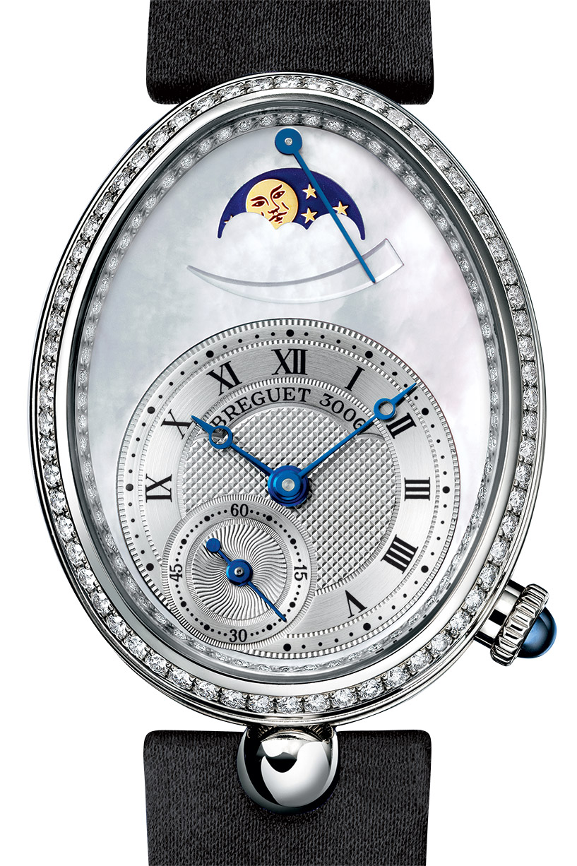 diamonds bezel Breguet REINE DE NAPLES copy