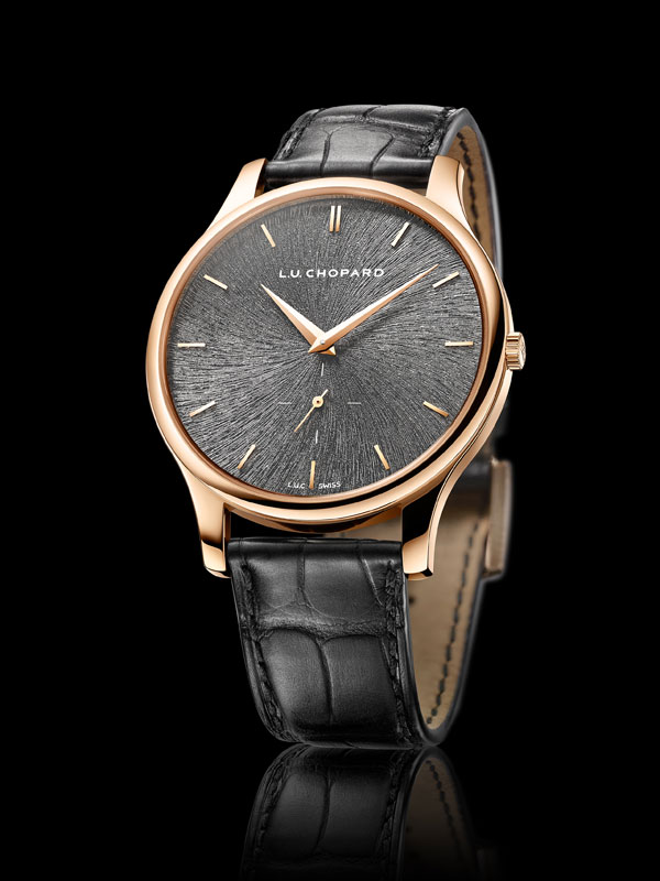 copy slate gray dial Chopard L.U.C XPS Fairmined