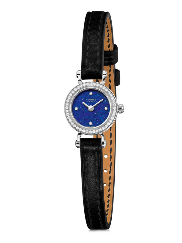 blue dial Hermes Faubourg Pierre replica