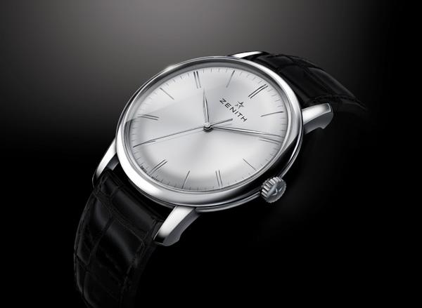 replica silver dial Zenith Elite 6150