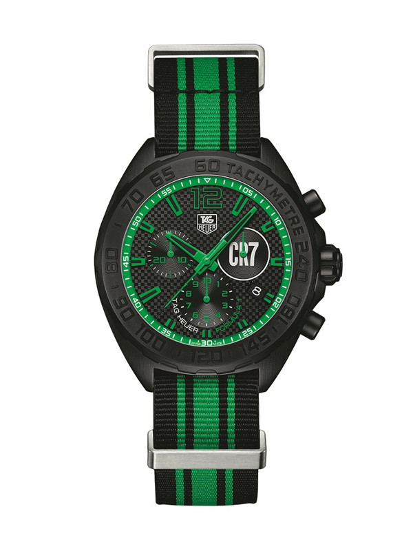 green pointer copy TAG Heuer Formula 1 CR7
