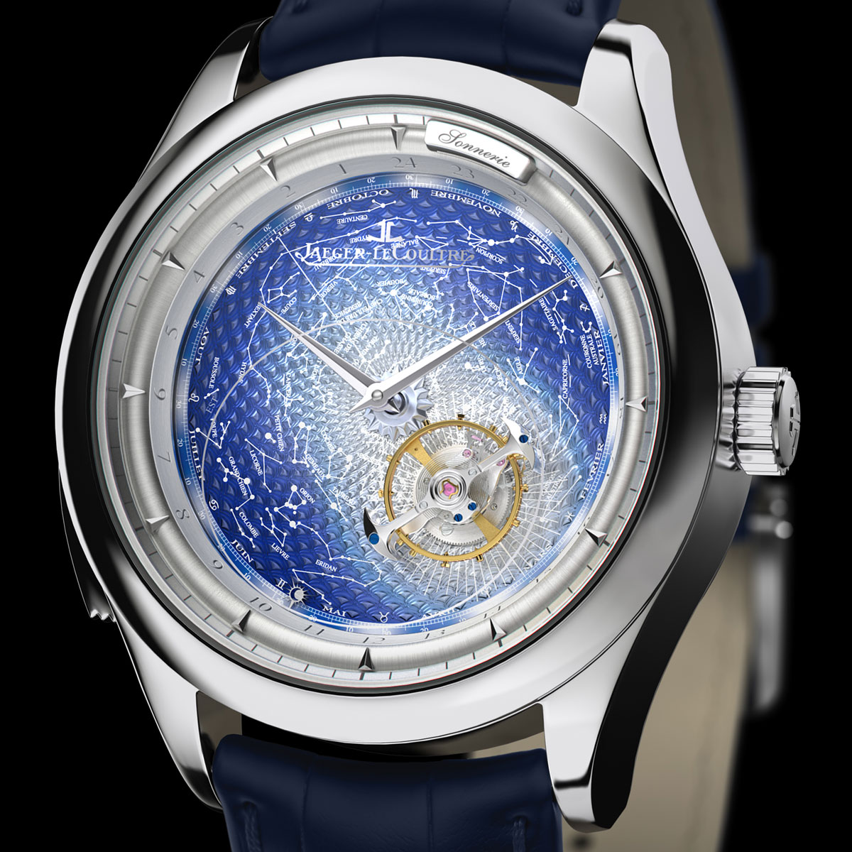 white gold pointer copy Jaeger-LeCoultre Master Grand Tradition Grand Complication
