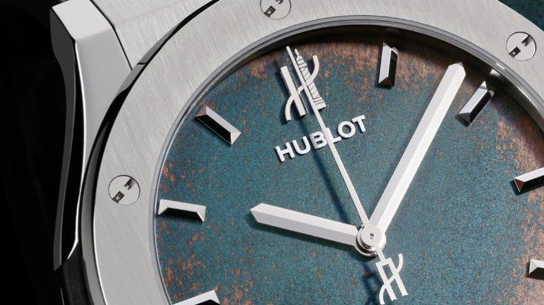white gold scale fake Hublot Classic Fusion Vendôme
