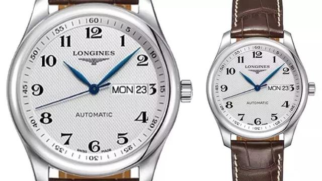 With Arabic numeral time scales, readability of best Longines replica is greatly improved.