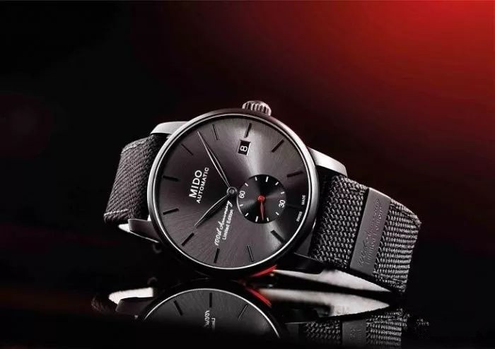 Mido fake watches with grey dials are low-file.
