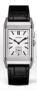 Jaeger-LeCoultre Reverso copy watches with white dials are concise and classical.