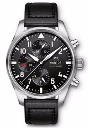 Replica IWC watches with black dials are exquisite.