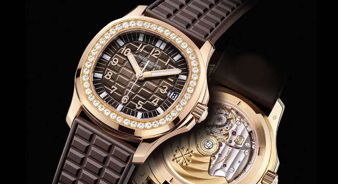 The chocolate rubber straps fake watches have chocolate dials.