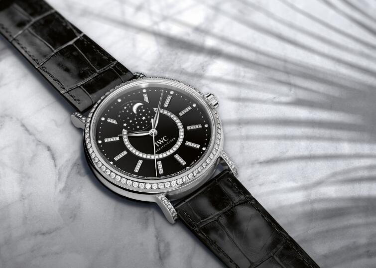 Swiss replication watches for sale are dazzling with diamonds.